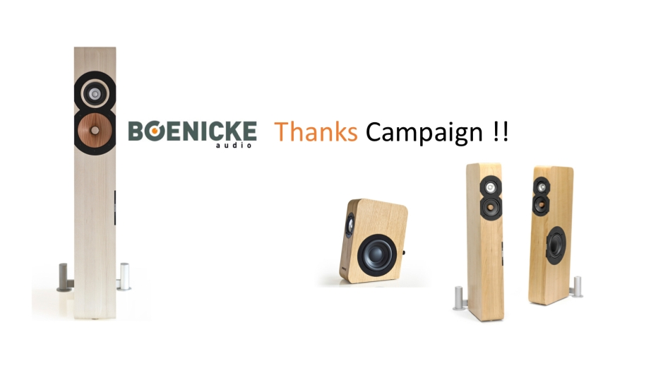 BOENICKE Audio Campaign 2018